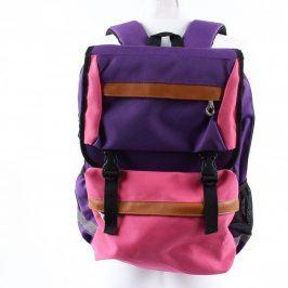 Dětský batoh Baijiawei fialovorůžový