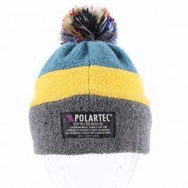 Dětská čepice Alpinus modro-žluto-šedé barvy
