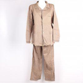 Pyžamová souprava Landy odstín hnědé