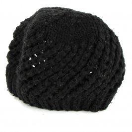 Dámská čepice odstín černé