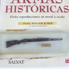 Model pušky Mauser K 98 K