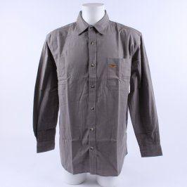 Pánská košile Atlas for men odstín šedé