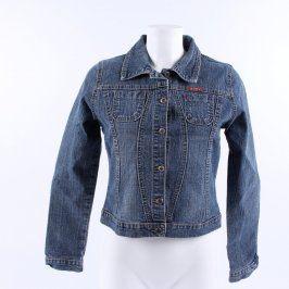 Dámská bunda Jakarta Jeans odstín modré