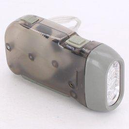 Kapesní svítilna A 3 LED s dynamem