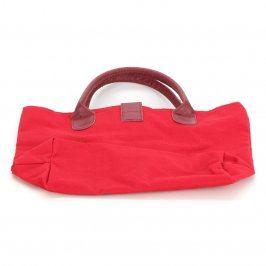 Dámská červená kabelka na rameno