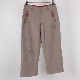 Dámské plátěné kalhoty TCM béžové