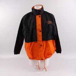 Pánská bunda C&A černooranžová