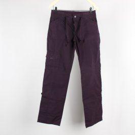 Dámské kalhoty Yessica vínově červené