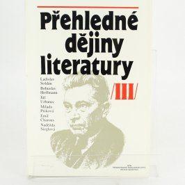 Kniha Přehledné dějiny literatury III.