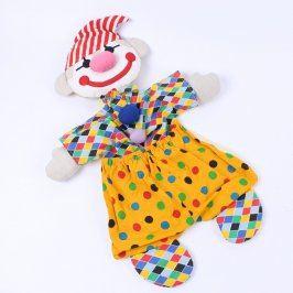 Nástěnný pořadač látkový klaun