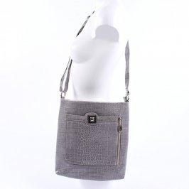 Crossbody kabelka odstín šedé