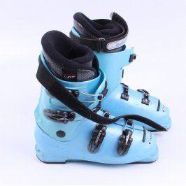 Lyžařské boty Lange Team Junior světle modré