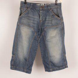 Pánské šortky Denim džínové modré