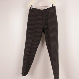 Pánské společenské kalhoty odstín černé