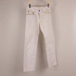 Pánské kalhoty Angelo Litrico bílé