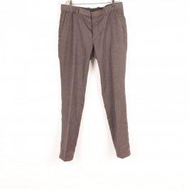 Pánské kalhoty H&M odstín hnědé
