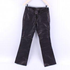 Dámské černé kalhoty dlouhé
