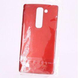 Kryt na mobil 14 x 7 x 1 cm červený plast