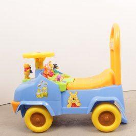 Dětské odrážedlo Disney modro žluté