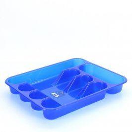 Plastový příborník Kis modré barvy