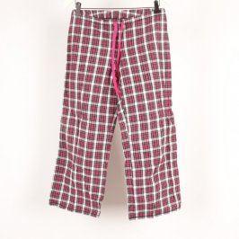 Dámské domácí kalhoty kostkované