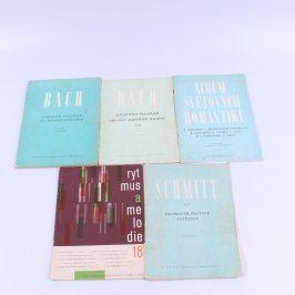Skladby pro klavír - 5 kusů