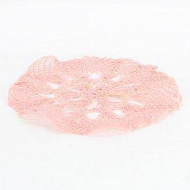 Malé prostírání odstín růžové
