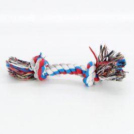 Hračka pro psy bavlněná ve tvaru uzle