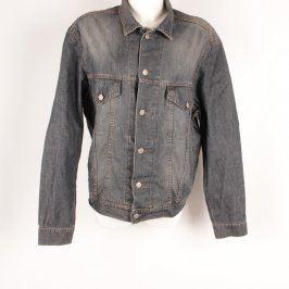 Dámská bunda Fashion jeans džínová