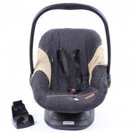 Autosedačka Easybob Maxi černo béžová