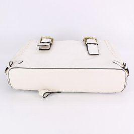Dámská kabelka odstín bílé na rameno