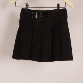 Dětská sukně X-Mail černá skládaná