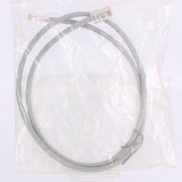 Síťový kabel RJ45 šedý délka 80 cm
