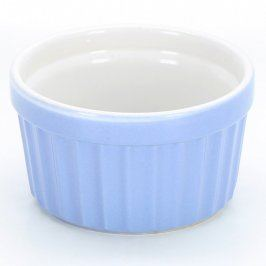 Zapékací mísa modro bílá keramická