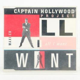 CD All I want  Captain Hollywood Project