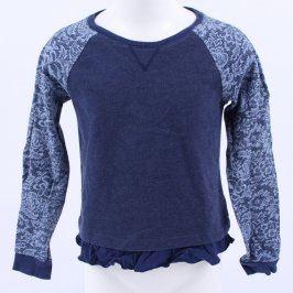 Dívčí mikina H&M modré barvy