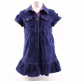 Dětské šaty Mexx manžestrové tmavě modré