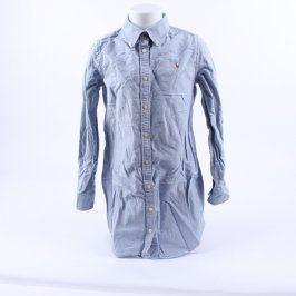 Dětská košile Ralph Lauren odstín modré