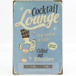 Smaltovaná cedulka Cocktail Lounge