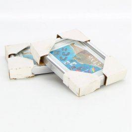 Dřevěné rámečky odstín bílé
