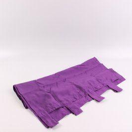 Závěs Domarex odstín fialové