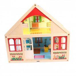 Dřevěný domek Woody s příslušenstvím