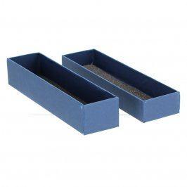 Dárková krabička na šperky odstín modré