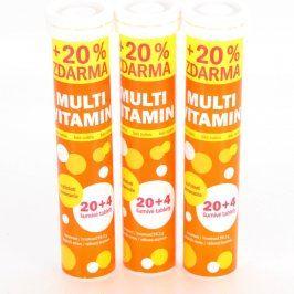 Šumivé tablety Vitar s příchutí pomeranče