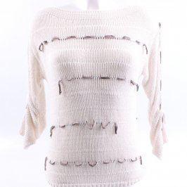 Dámský béžový svetr