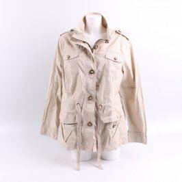Dámský jarní kabát Marks & Spencer béžový