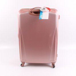 Cestovní kufr Cities T-125/3-L růžový