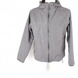 Pánská bunda s kapucí Fabric šedá