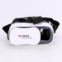 Virtuální brýle VR-Box bíločerné