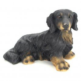 Keramická dekorace pes jezevčík
